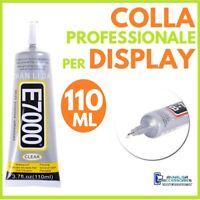 COLLA E-7000 PER DISPLAY RIPARAZIONE SMARTPHONE CELLULARI VETRI TOUCH LCD 110ml