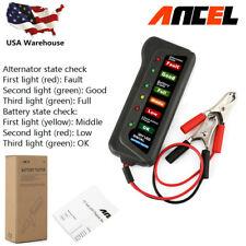 Ancel BST100 Car 12V LED Battery Analyzer Digital Battery Tester Diagnostic Tool