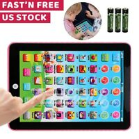 Educational Toys For 1 2 3 year Olds Boy Girl Toddler Electronic Learning Tablet