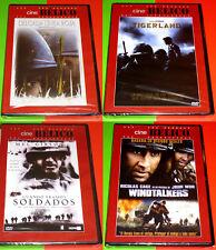 WINDTALKERS + TIGERLAND + LA DELGADA LINEA ROJA + CUANDO ERAMOS SOLDADOS -DVD R2
