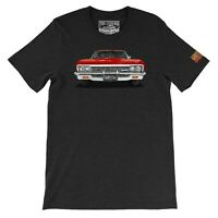 1966 Chevy Impala SS The Legend Classic Muscle Car Men's T-shirts Made in USA