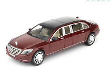 1:24 Diecast Model Car Toy Mercedes Maybach S600 Limousine New in Box Red Gift