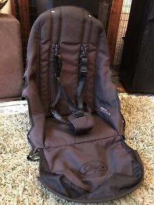 Baby Jogger City Select Seat Fabric Black With Harness