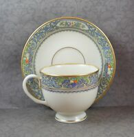 Lenox Autumn Bone China Tea Cup and Saucer Set