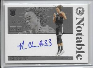 2019-20 Encased Scripted Rookie Signatures- Nicolas Claxton /99 Brooklyn Nets!