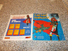 ALBUM CAPTAIN CAPITAN HARLOCK PANINI 1979 COMPLETO MOLTO BUONO SERIE TV
