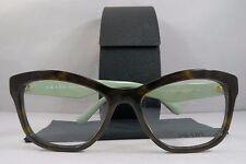 Prada VPR 29R 2AU-1O1 Tortoise/Jade New Authentic Eyeglasses 52mm w/Case