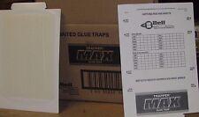 Trapper MAX Glue Trap  72 Prebaited glue boards NEW SALE MADE IN THE USA