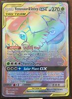 Pokemon Card VENUSAUR & SVINY  Secret Rare  249/236 COSMIC ECLIPSE *MINT*