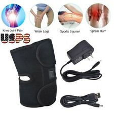 Electric Heated Knee Pad Self Heating Thermal Belts Wrap Brace Arthritis Therapy