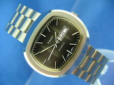 Retro Gents NOS Vintage Phenix Revue Automatic Watch Circa 1970s Swiss