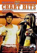 CHART HITS VOL 09 SUNFLY KARAOKE MULTIPLEX DVD - 12 TRACKS