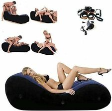 Inflatable Sofa Multifunctional Yoga Chaise Chair Couples Lounger Role Play Bed
