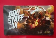God Staff Jax skin card - League of Legends LOL Pax East 2018 - unused - expired