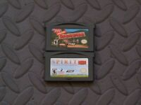 Lot Nintendo Game Boy Advance GBA Games Barnyard + Spirit: Stallion of the Cimar