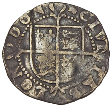 ENGLAND. Elizabeth I. 1558-1603. Silver Halfgroat, Sixth Issue, 1592-5