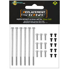 NEW Talismoon Complete Spare Screws Set for Microsoft Xbox 360 Console Parts AU