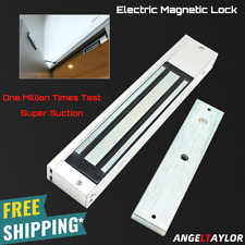 Electronic Door Lock Magnetic Lock Gate Opener Suction Holding Force 280Kg 600Lb