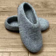 Felted wool slippers - New Zealand wool - handmade in Nepal