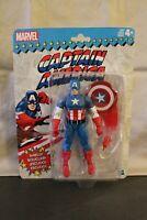 "Captain America  - Sealed 6"" series figure - Marvel Legends Retro Classic Wave 1"