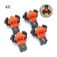 4X Woodworking 90°Right Angle Picture Frame Corner Clamp Clip Holder Tool