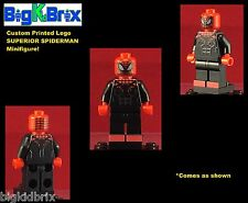 SPIDERMAN SUPERIOR Marvel Custom Printed Lego Minifigure No Decals Used!