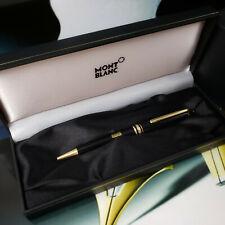 MONTBLANC Meisterstuck 164 Black Gold Classic Ballpoint Pen 10883 ⚡NEW⚡
