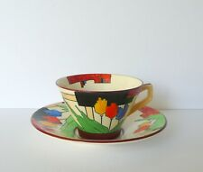 Art Deco Royal Winton Hand Painted Cup & Saucer Set