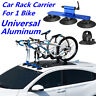 Aluminum Alloy Bicycle Rack Roof-Top Suction Bike Car Rack Hitch Carrier