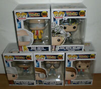 5 Funko Pop Movies Back to Future - 958 959 960 961 962 Marty Doc Zurück Zukunft