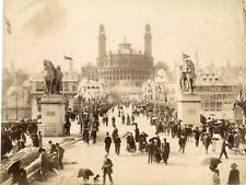 France, Paris, Exposition Universelle de 1900      Vintage albumen print.  Tir