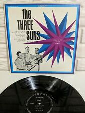 The Three Suns In Orbit Lp L1756 Vinyl 1962 US VG