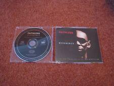 """FAITHLESS REVERENCE UK 4TRK CD SINGLE NOT 7"""" VINYL OR 12"""" PROMO"""