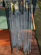 PING golf iron shafts. Used. 24 shafts. 2 graphite. 22 steel. OK condition. VIC3