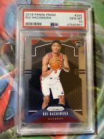 2019-20 Panini Prizm Rui Hachimura Rookie Card RC #255 Wizards PSA 10