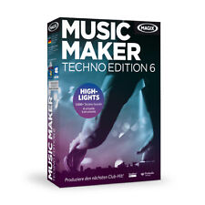 MAGIX Music Maker Techno Edition 6 Win DVD