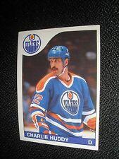 1985-86 OPC #187  Charlie Huddy  Edmonton Oilers  NrMt