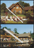 alte AK Spreewald Blota Kahn Tracht DDR Ostalgie 1989 1990 (5)
