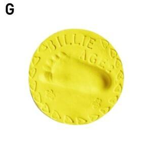 Unisex Soft Clay Baby Handprint Footprint Imprint Kit Casting Memory Toy