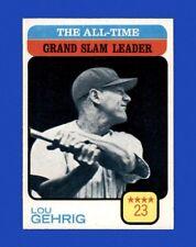 1973 Topps Set Break #472 Lou Gehrig LDR NM-MT OR BETTER *GMCARDS*