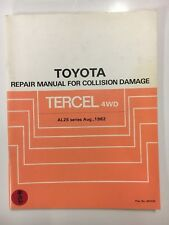 Toyota Repair Manual For Collision Damage