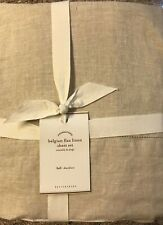 Pottery Barn BELGIAN FLAX LINEN Sheet Set,Natural, Size Full, New  W/$269.00 tag