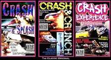 CRASH 3-pak: CRASH & CRUNCH, CRASH EXPERIENCE, CRASH & SPLASH