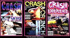 Drag Racing CRASH 3-pak: CRASH & CRUNCH, CRASH EXPERIENCE, CRASH & SPLASH
