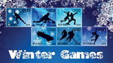 Guyana - 2014 - Winter Olympics 2014 - Sheet Of 6 - MNH