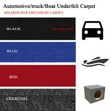 Automotive Carpet Replace Upholstery Trunk Liner Floor Rug Anti Wear 78