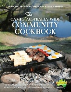 The Camps Australia Wide Community Cookbook Paperback FREE SHIPPING