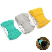 Female Male Dog Pet Puppy Belly Wrap Band Diaper Nappy Pants Sanitary Underwear