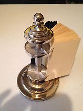 7 Gypsies 17663 Silver Metal Revolving Trade Card Holder Rolodex Scrapbooking
