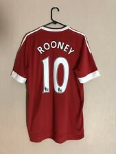 Rooney #10 Large 2015/16 Manchester United Home Football Shirt Jersey BNWT